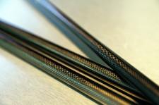 研磨も塗装もしないため、セブンドリーマーズシャフトはカーボン繊維がはっきり見える