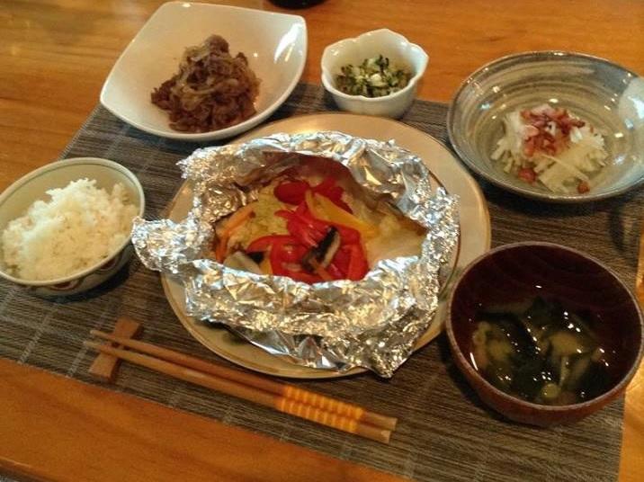 我が家でのホームステイなので、毎日の食事は日本の一般的な家庭料理。食生活が原因でホームシックなることはないでしょう。