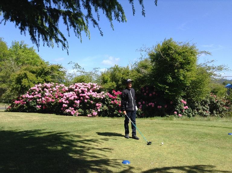 NZアマ決勝の日曜日、我々はタウポ ゴルフクラブの、センテニアルコースとタウハラコースで36ホールのプレーを楽しみました。