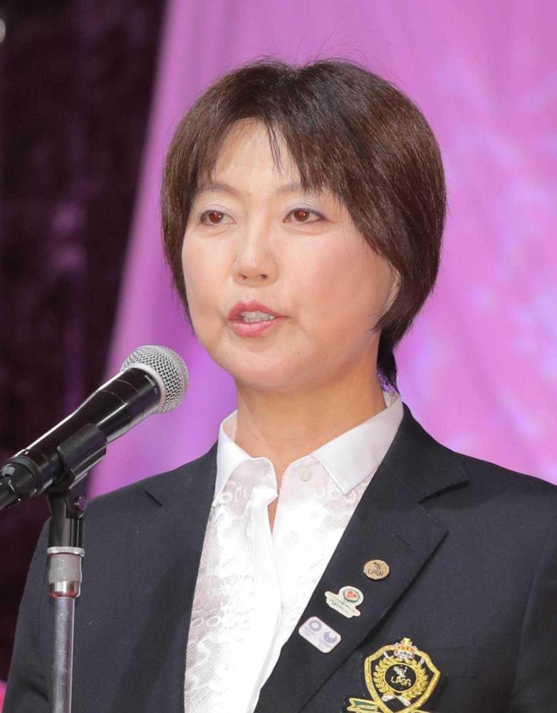 日本女子プロゴルフ協会・小林浩美会長