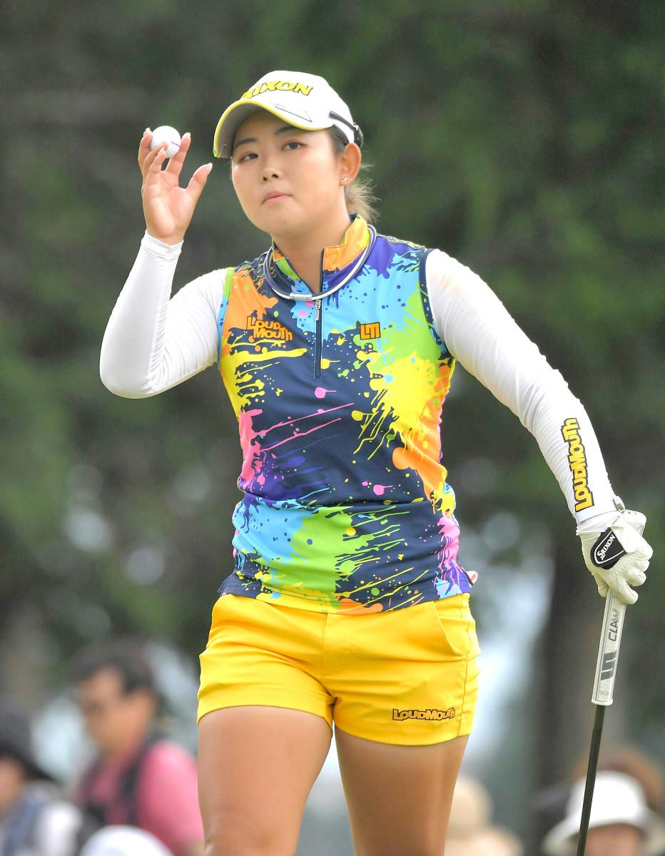 優勝した浅井咲希